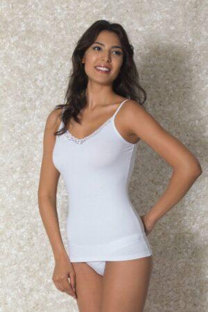 Doreanse Lace Trim Women's Vest 9338
